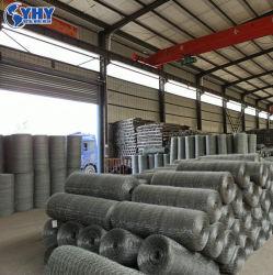 سياج شبكي من الأسلاك الحديدية مغلفنة PVC مغلفنة