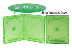 xBox de In het groot Dubbele Schijven van Één Geval van de Vervanging xBox Één Videospelletje van het Geval DVD xBox 360 Dozen van het Geval