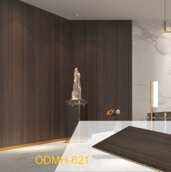 방수 방화 쉬운 PVC 우드 플라스틱 벽 천장 패널 인테리어 장식용 보드