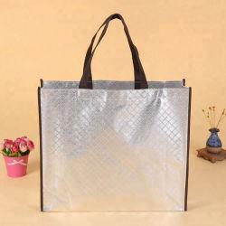 Recycle-lamineerde fashion-tas naaien niet-geweven handtas milieuvriendelijk Op voorraad opvouwbare draagtas met logo