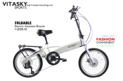 6개 속도 Foldable 자전거 전기 스쿠터 접히는 E 자전거 자전거를 순환해 조수가 Ce/TUV에 의하여 증명된 공중 버스 지하철 지하철에 의하여 자유롭게