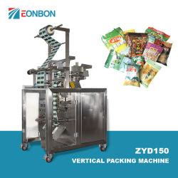 フルオートの小さい使用された縦の純粋な水製品の粉の米のコーヒー袋の磨き粉水茶真空の食糧多機能の包装機械