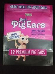 犬の鶏猫動物の食品包装のためのカスタマイズされた印刷されたロゴの食品等級の薄板にされたポリ袋