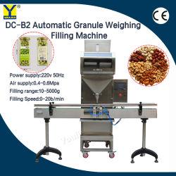 Die automatischen abfüllenden Körnchen, die Füllmaschine für Reis-Süßigkeit wiegen, sät Bohnen-Salz-Hardwareeinheiten (DC-B2)