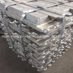 ADC12 Lingote de aleación de aluminio, aluminio A7 A8, los lingotes de aluminio puro, el 99,7
