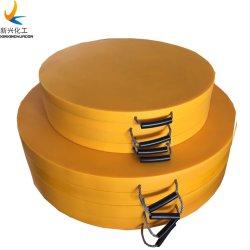 24X24дюймовый мобильный кран UHMWPE Outrigger стабилизатора прокладка для опоры стопы