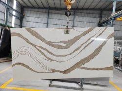 Доступный по цене белый/красный/черный/серый кварц Brittanica Quartzite гранита мрамора с твердой поверхности кухонной мойки для семьи проекта