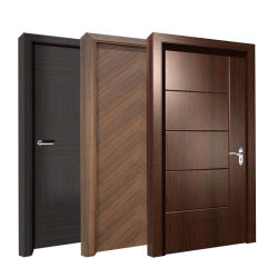 Композитный полый/твердых деревянных внутренних дел современной паз двери заподлицо