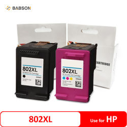 Cartuccia di inchiostro compatibile dell'HP 802XL CZ561z CZ563z CZ562z CZ564z per l'HP Deskjet 1000 1050 2000 2050 2510 2540 3050 3510 una cartuccia dei 3540 getti di inchiostro