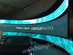 P4 HD im Freien weiche/flexible/Bendable LED-riesige video Wand-/Bildschirm-Innenbildschirmanzeige für das Bekanntmachen/Fußball/Fußballplatz/Signage /Billboard/Conference /Concert