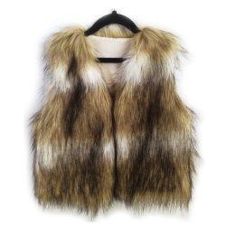 Faux Fur Chaleco Boutique para niña invierno Faux Fur chaleco sin mangas Chaleco de piel de bebé elegante abrigo de las niñas