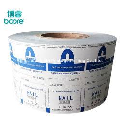 Lamelliertes Aluminiumfolie-Papier für die Verpackung der Nagellack-Remover-Wischer