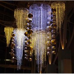 2018 LED glaçon de Noël pour la décoration de la chaîne d'éclairage des feux