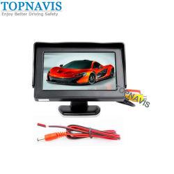 Ecran LCD TFT 4,3 pouces voiture moniteur couleur de la vue arrière