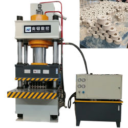 ماكينة ضغط الضغط الهيدروليكي بقدرة 200 طن لتابلت الملح / كتلة الغبار / بلاط السيراميك
