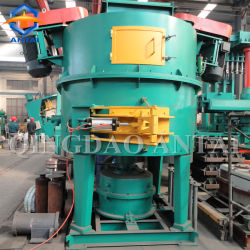 Высокая эффективность роторного типа глина песок микшером для литейного производства зеленой линии песка