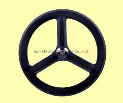Bicicletta Wheelset di larghezza del carbonio 23 dello Spoke della graffatrice 3 della rotella 700c dello Spoke del carbonio di superficie del basalto tri