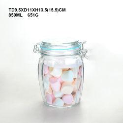 Recipiente de almacenamiento de la jarra de cristal Cristal menaje de cocina