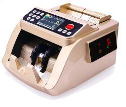 Contanti UV del rivelatore dei soldi del magnesio IR Counterfit del migliore di qualità di colore 5518 doppio sensore dorato di colore che contano il contatore del Bill di soldi della banconota della macchina, sorter della banconota