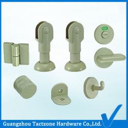 Fabricant de gros de l'armoire de toilette Accessoires en plastique pour le bois des partitions de la salle de bains