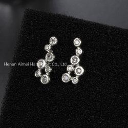 De façon unique CZ Earrings Bijoux Argent 925 goujons de l'oreille