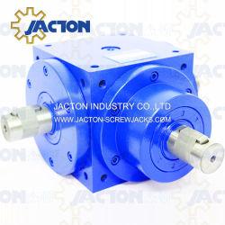 Caja de engranajes de la mejor salida doble eje sólido de 90 grados, el precio de los cambiadores de transmisión