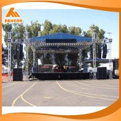 Móviles portátiles de aluminio de la armadura de la iluminación de eventos para la etapa de la fase de la plataforma de equipos