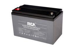 Alta calidad de 12V 135Ah recargables libres de mantenimiento de la batería de carbono de plomo