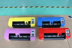 A3 380mm plotter de corte de contorno automático, la cortadora de vinilo con certificado CE Envío libre del escritorio Mini Plotter Cortador de vinilo de 380 mm de armas láser Vinilo adhesivo Aut