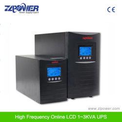 Sistema inteligente de UPS 1kVA-3kVA 0,8 Alta Freqüência de fator de potência