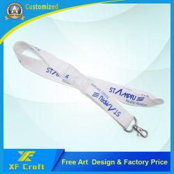 شريط طباعة مخصص احترافي لنقل الحرارة مع مشبك بلاستيكي (XF-LY07)