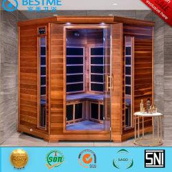 Coner de Infrarode Sauna van de Zaal van de Sauna van de Badkamers van het Ontwerp van de Vorm