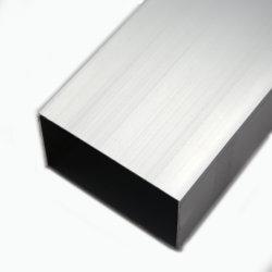 0,8 mm-3mm 6063 T5 L'anodisation au revêtement en poudre aluminium extrudé en alliage de profils pour Windows portes