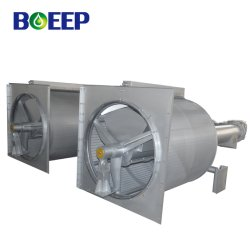 Tela de água do tambor rotativo de filtração do tratamento de águas residuais as etapas do processo
