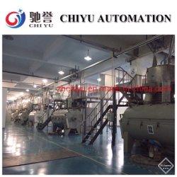Le traitement par lot automatique et systèmes de mélange pour le PVC Profil porte et fenêtre