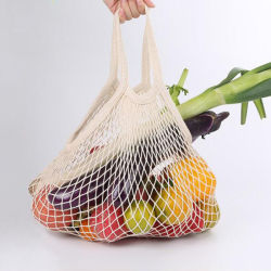 قابل للاستعمال تكرارا [إك] ودّيّة قطن شبكة نباتيّ ثمرة حقيبة