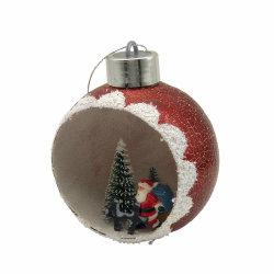Роскошный Рождество Baubles пластика для дома украшения