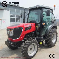 Yinquan tb504 Granja/agrícola/Jardín/máquina de la rueda de tractor con el SGS/certificado CE y pala cargadora retroexcavadora//arado/remolque