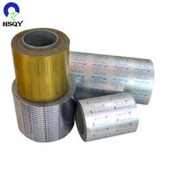 De medische Folie van het Aluminium van de Blaar van de Tablet van de Verpakking