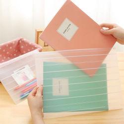 foshionプラスチック明確な文書のホールダーファイル袋(PP袋)