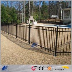Valla tubular de acero con revestimiento en polvo, para el jardín, piscina, zonas residenciales