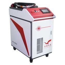 低価格500W 1000W 1500Wのファイバーソース手持ち型のレーザ溶接機械