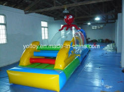 Giochi di galleggiamento gonfiabili della sosta dell'acqua per il raggruppamento o l'affitto