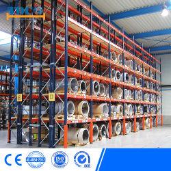 Heavy Duty empilage sélective Entrepôt de stockage automatique galvanisé Cantilever Mezzanine Teardrop étagère rack acier métallique de la navette de palette