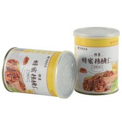 건강한 영양 호두 고품질 감미로운 꿀 호두 커널 식사 통조림 깡통