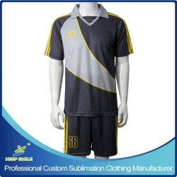 Sublimación personalizado de secado rápido cómodo el equipo del Club de Fútbol prendas de vestir