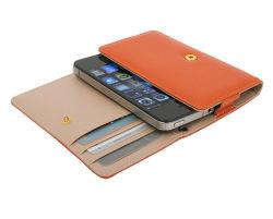 بالنسبة لحالات iPhone، فإن PVC Casem مع جيب بطاقة