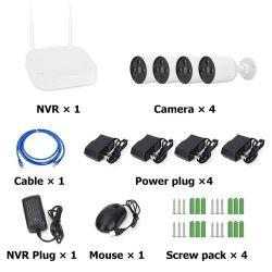 WiFi 카마라 DIY 보안 DVR XVR NVR 무선 CCTV 카메라 패키지 키트