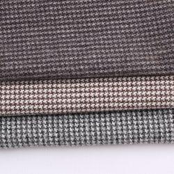 O padrão esperado de Hounds Dente Lã Moda Cubra Fabric