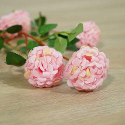 Nuevo diseño 7 Jefes Mini crisantemo flores de seda artificial para la decoración de jardín